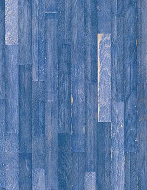 Состаренная инженерная доска Bauwerk Unopark Vintage Edition Дуб Blue intense (Синяя)