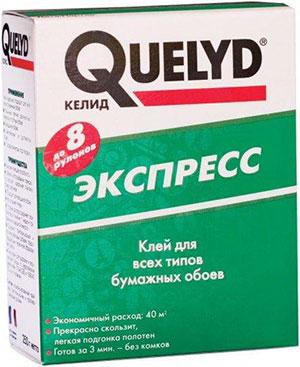 Клей для бумажных обоев quelyd инструкция