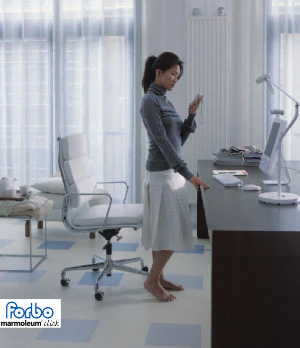 forbo marmoleum click silver shadow 753860 763860. Black Bedroom Furniture Sets. Home Design Ideas